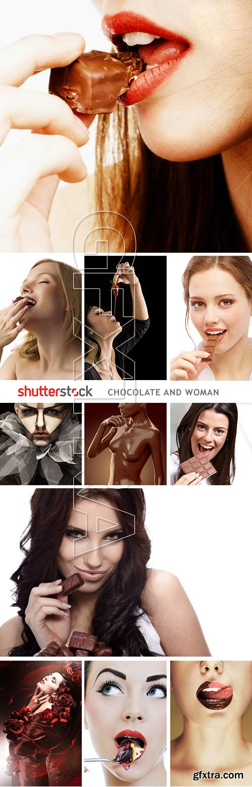 Chocolate and Woman 25xJPG