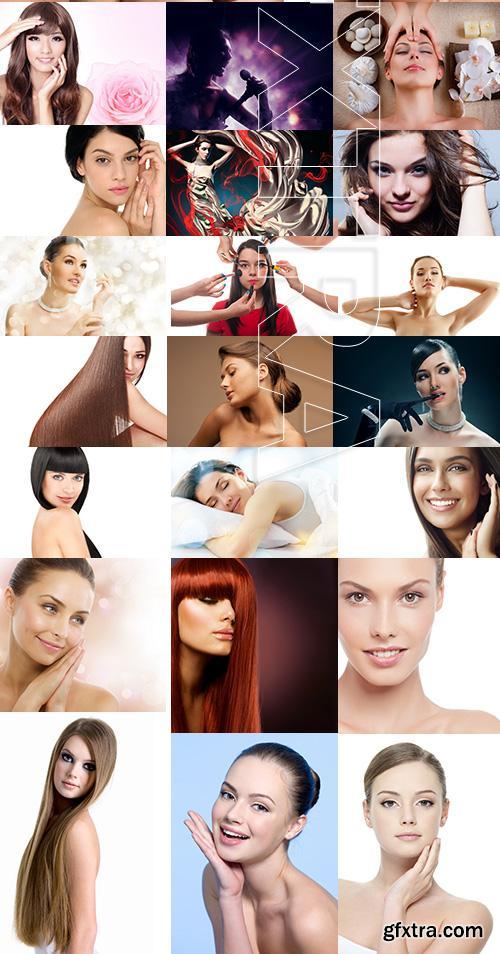Amazing SS - Beauty Girl Portrait 4, 25xJPGs
