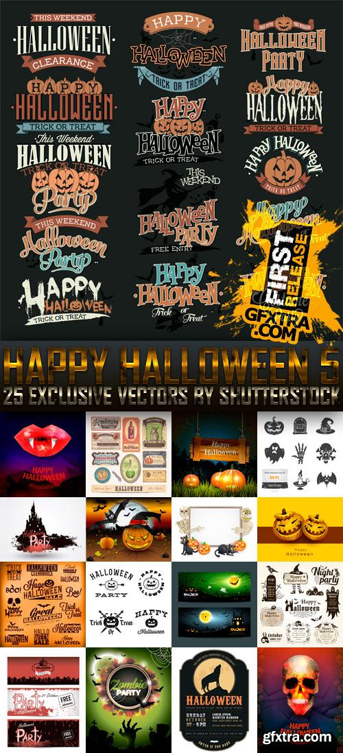 Amazing SS - Happy Halloween 5, 25xEPS