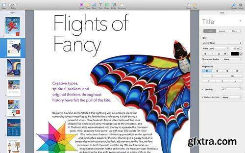 Pages v5.0 Multilingual MacOSX Retail-CORE