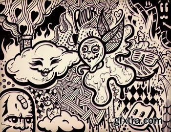 Abstract Doodles 22xEPS