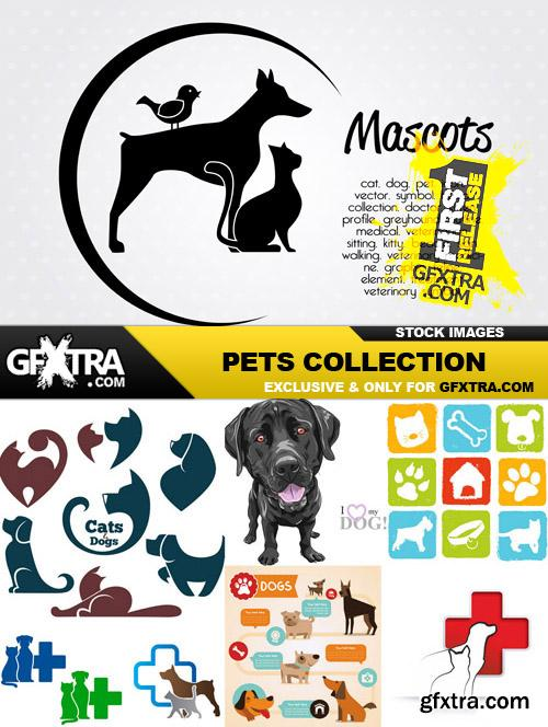 Pets Collection - 25 Vector