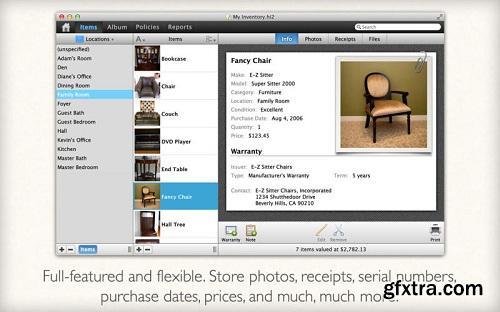 Home Inventory v3.1.0 MacOSX