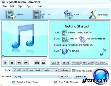 Bigasoft Audio Converter 3.7.49.5044 Multilingual