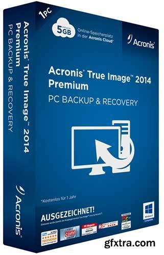 Acronis True Image 2014 Premium 17 Build 6614