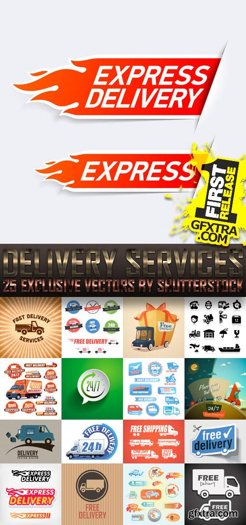 Amazing SS - Delivery Services, 25xEPS