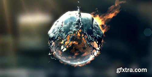 Videohive Fire & Water Logo 1480990