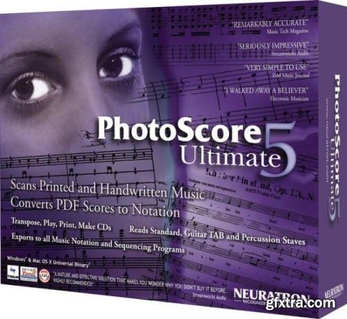 Neuratron PhotoScore Ultimate 7.0.2 Portable