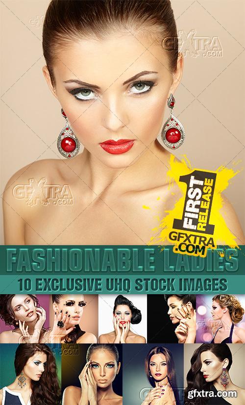Fashion beauty, beautiful hairstyles - PhotoStock