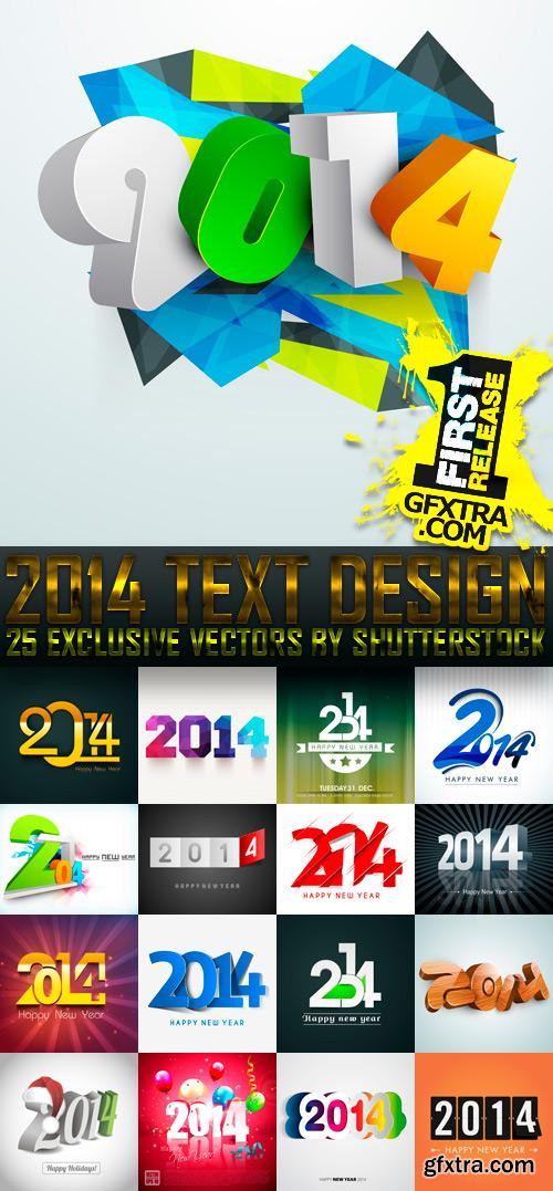 Amazing SS - 2014 Text Design (vol.2), 25xEPS