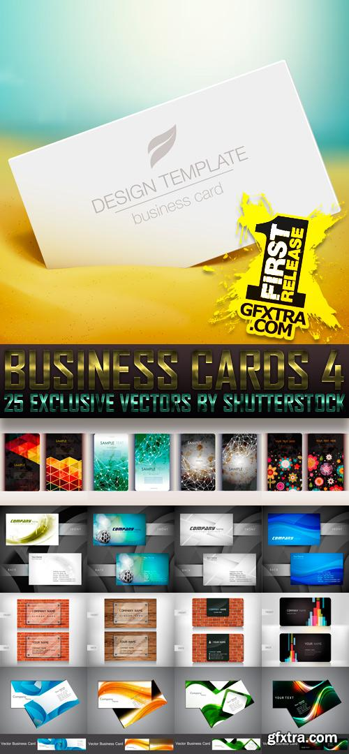 Amazing SS - Business Cards 4, 25xEPS
