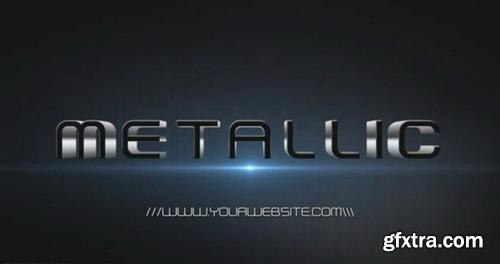 Metallic Black Intro - After Effects Template
