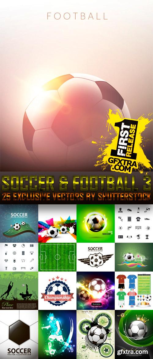Amazing SS - Soccer & Football 3, 25xEPS