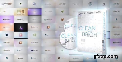 Videohive Quick Logo Sting Pack 01: Clean & Bright 4028443 (Bonus 2 Lowerthird)