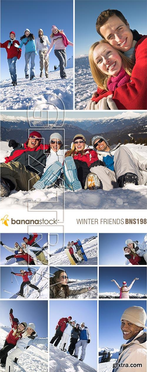 BananaStock BNS198 Winter Friends