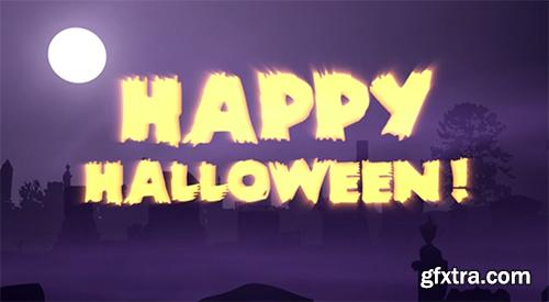 Happy Halloween - After Effects Project
