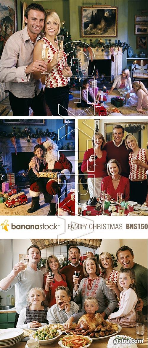 BananaStock BNS150 Family Christmas