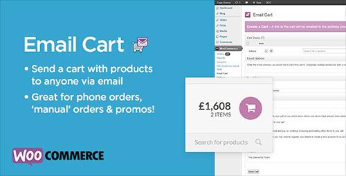 CodeСanyon - Email Cart for WooCommerce v1.1