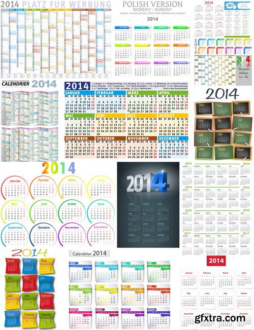 Calendar 2014, 25 EPS