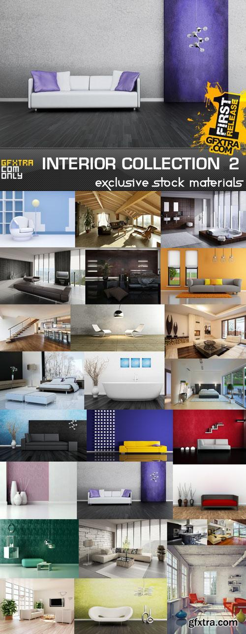 Collection of interiors vol. 2, 25xUHQ