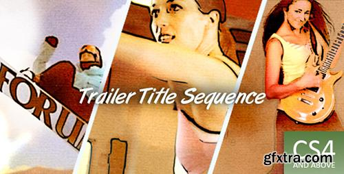 Videohive Trailer Title Sequence 2345828