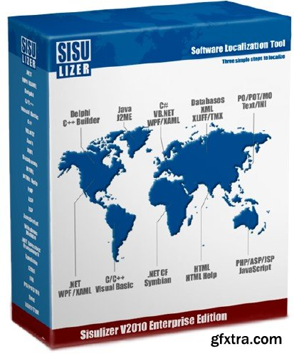 Sisulizer Enterprise Edition 3.0 Build 341 Multilingual