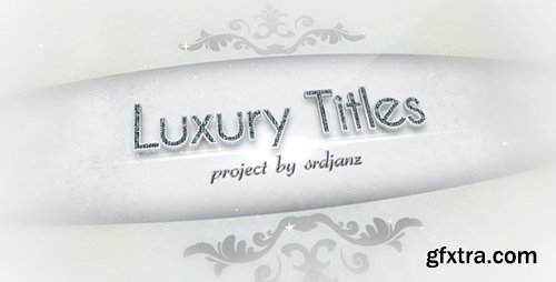 Videohive Luxury Titles Pack (12 After Effects Templates)