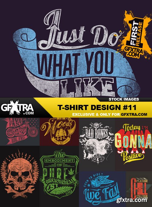 T-Shirt Design #11 - 25xEPS