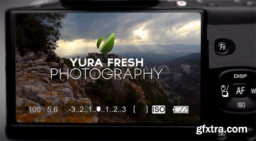 Videohive Photography Intro 4297881 (2 Version)