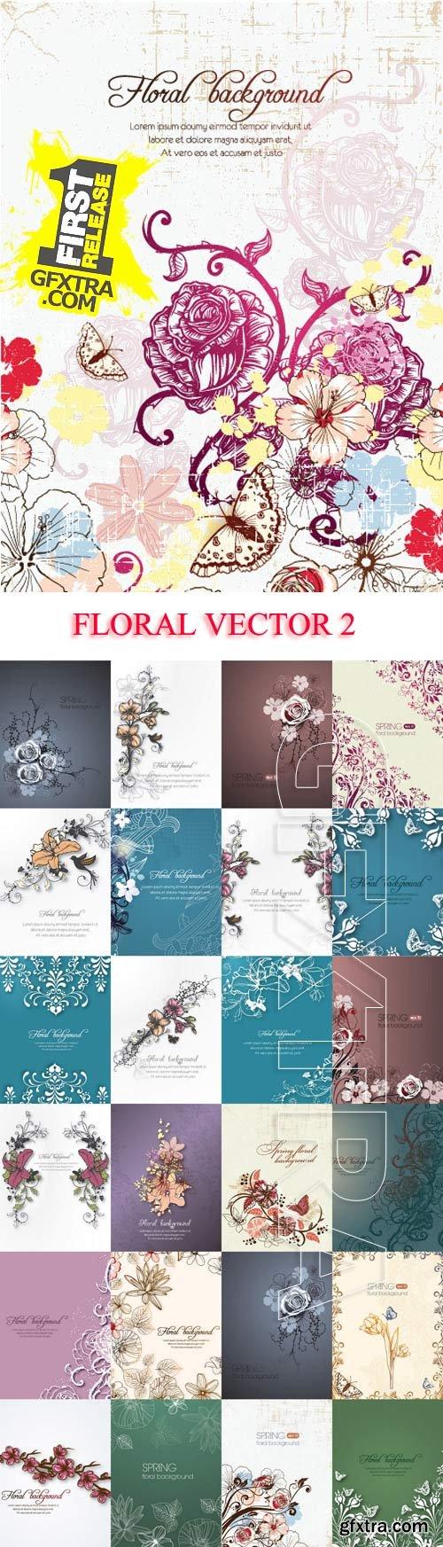 Vectorious Floral Illustrations Set 2, 25xEPS