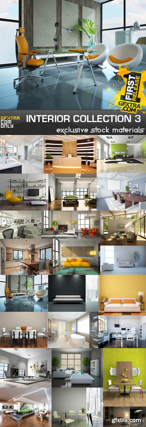 Collection of interiors vol.3, 25xUHQ