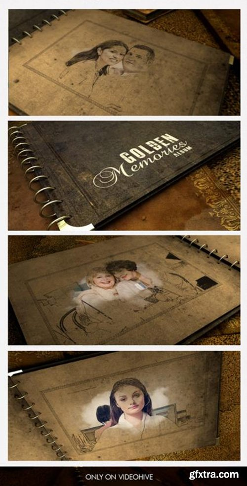 Videohive Golden Memories Album 5324645