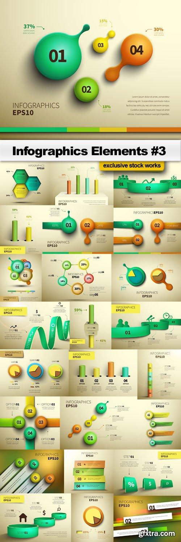 Infographics Elements #3 - 25 EPS