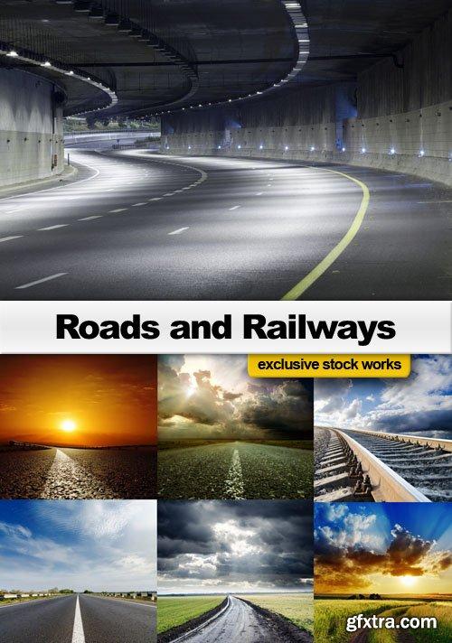 Roads and Railways - 25 JPEG