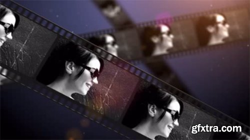 Film Strip - After Effect Template