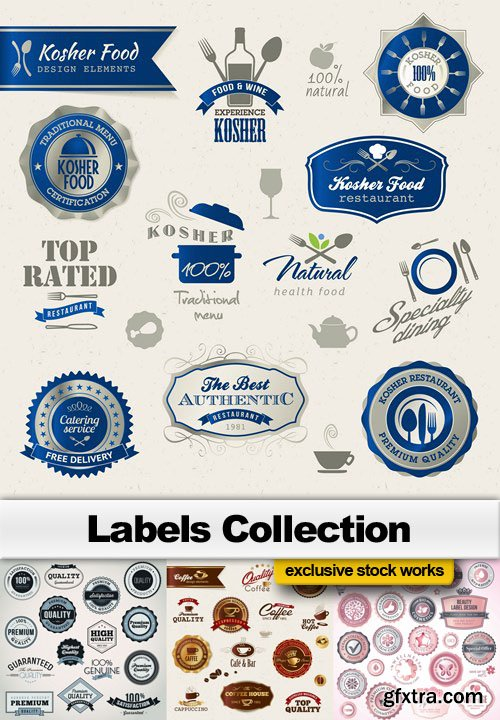 Labels Collection - 25 EPS