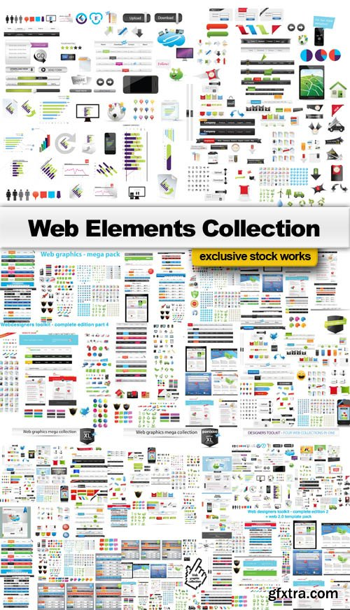 Web Elements Collection - 25 EPS