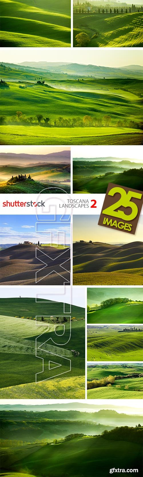 Toscana Landscapes II, 25xJPGs