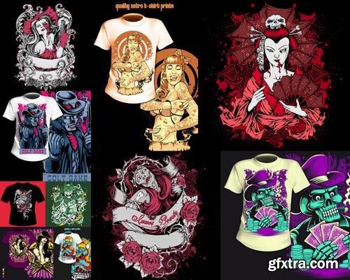 T-Shirt Design #3, 25xEPS