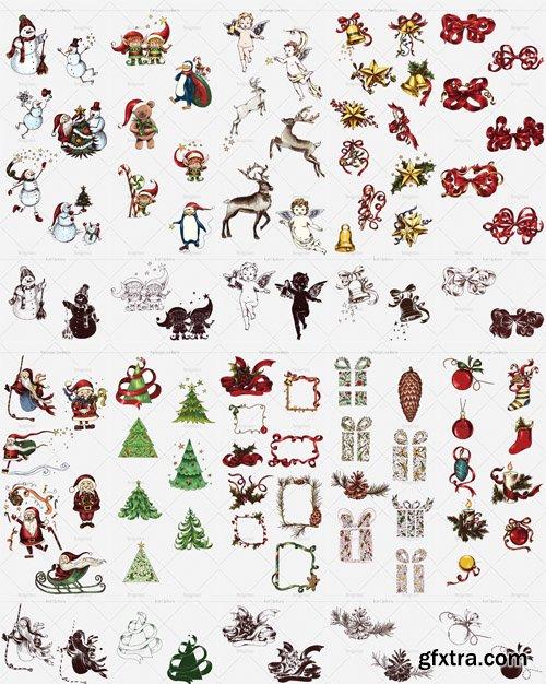 Vector Christmas Design Elements Bundle