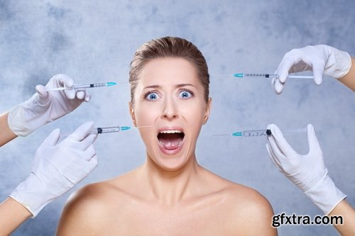 Amazing SS - Treatment with botox, 25xJPGs