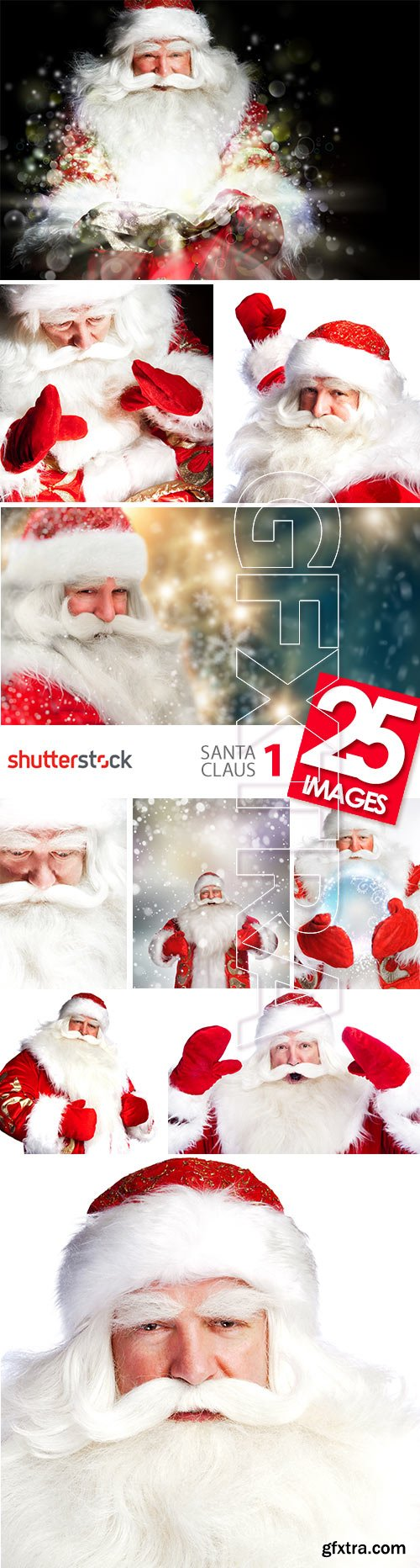 Santa Claus I, 25xJPGs