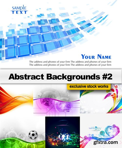 Abstract Backgrounds #2 - 25 EPS