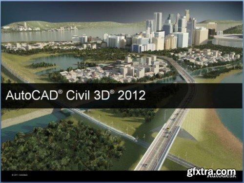 Autodesk AutoCAD Civil 3D 2012 SP4 (x86/x64) ISZ