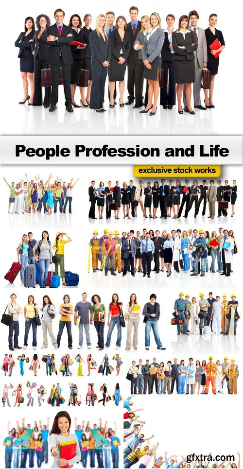 People Mega Collection - 25 JPEG