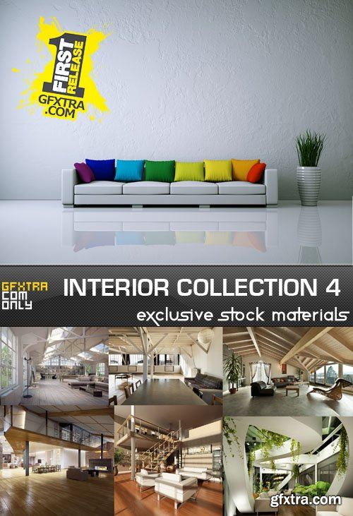 Collection of interiors vol. 4, 25xUHQ