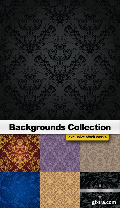 Backgrounds Collection - 25 EPS, AI