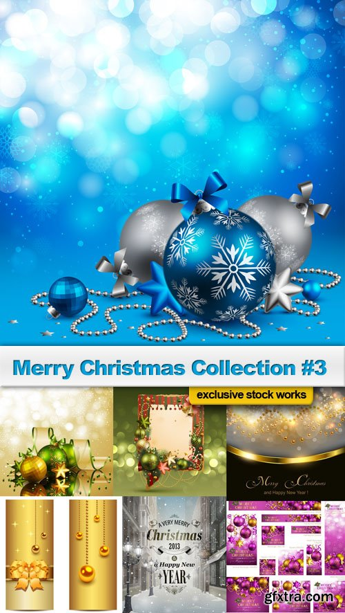Merry Christmas Collection #3 - 25 EPS