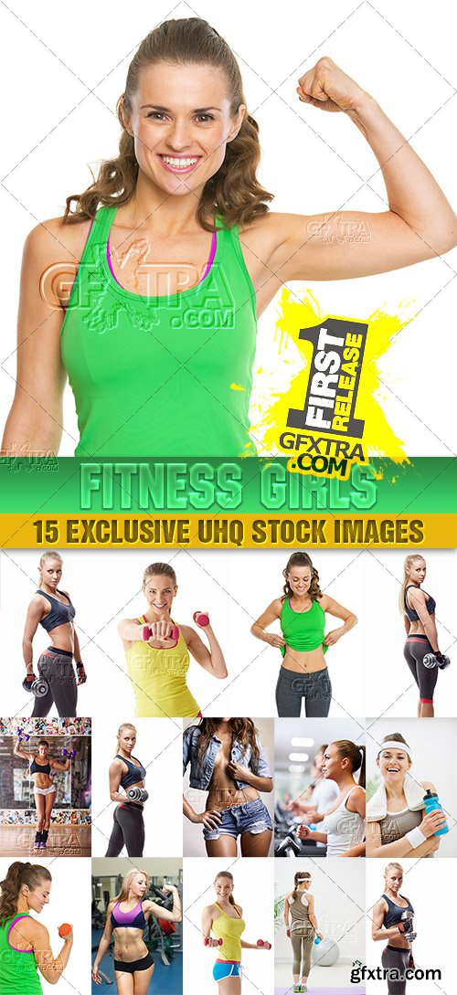 Fitness girls Collection, 3 - PhotoStock