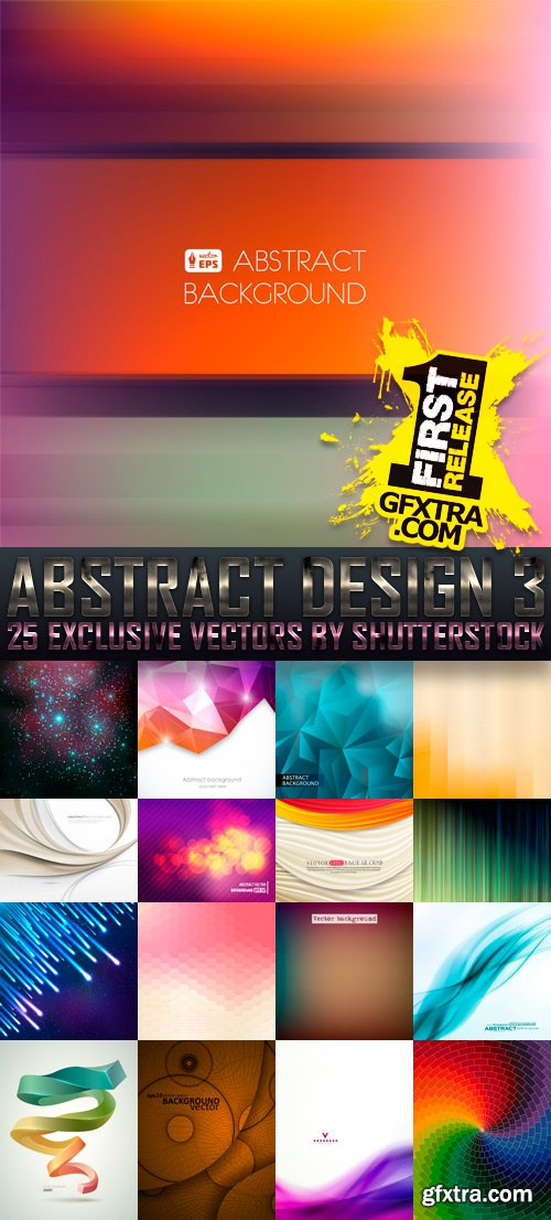 Amazing SS - Abstract Design 3, 25xEPS